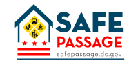Safe Passage logo.